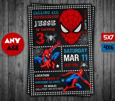 free printable spiderman invitations birthday party invitation templates pinterest spiderman birthdays and boy birthday