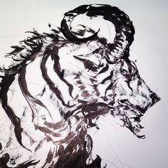 Beast #doodle #sketch