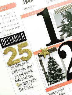 December memories in The Happy Planner™ of mambi Design Team member April Orr…