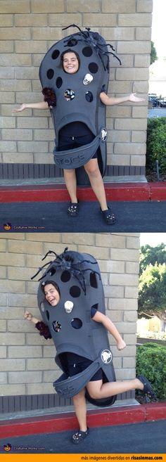 Disfraces originales: Crocs para Halloween.