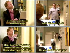 I want Mitch & Cam from 'Modern Family' to adopt me (23 photos)