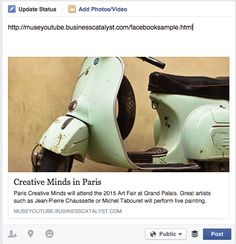 Adobe Muse Tips: Share on Facebook | Creative droplets