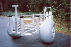 Wheeleez Fishing Beachcart Modification