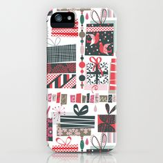 Bohemian Christmas iPhone Case