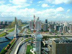 The city of Sao Paulo is the largest and richest in Brazil, and one of the largest in the World.