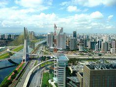São Paulo - Ponte Estaiada (by AboutSãoPaulo)