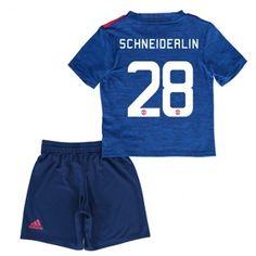 Manchester United Trøje Børn 16-17 Morgan #Schneiderlin 28 Udebanesæt Kort ærmer.199,62KR.shirtshopservice@gmail.com