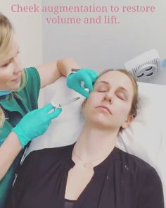 Cheek & Lip Augmentation One of our patients getting pampered and beautified ? Lip Surgery, Lip Augmentation, Mole Removal, Hair Loss, How To Remove, Lips, Hair Falling Out
