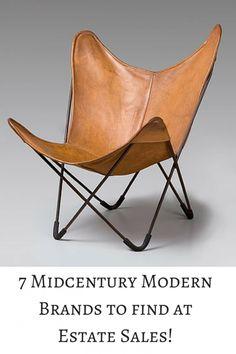 1938 Butterfly chair, also known as BKF chair, by Antonio Bonet Juan Kurchan , Jorge Ferrari Hardoy Modern Chairs, Midcentury Modern, Unique Furniture, Furniture Design, Poltrona Vintage, Poltrona Design, Wassily Chair, Modern Brands, Industrial Chair