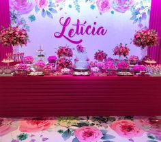 15th Birthday Decorations, Wall Backdrops, Flamingo Party, Sweet 15, Baby Shower, Neon Signs, Sailor Moon, Amanda, Pockets