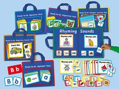 Ready-To-Go Learning Packs - Complete Set at Lakeshore Learning