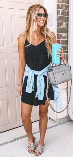 45 Magical summer outfits that will save your life completely making you look beautiful, trendy and always ready to impress. Summer Fashion Outfits, New Outfits, Spring Summer Fashion, Spring Outfits, Classy Outfits, Casual Outfits, Cute Outfits, Fashion Vocabulary, Rock
