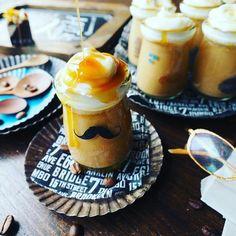 これほんとにおすすめです!お鍋で簡単♪ほろ苦とろける♪キャラメルマキアート風プリン♪ | しゃなママオフィシャルブログ「しゃなママとだんご3兄弟の甘いもの日記」Powered by Ameba Korean Dessert, Cafe Food, Menu Design, Desert Recipes, Food Art, Bakery, Deserts, Food And Drink, Pudding