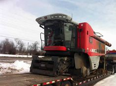 Massey Ferguson 9895 combine salvaged for used parts. This unit is available at All States Ag Parts in Sikeston, MO. Call 877-530-7720 parts. Unit ID#: EQ-23785. The photo depicts the equipment in the condition it arrived at our salvage yard. Parts shown may or may not still be available. http://www.TractorPartsASAP.com