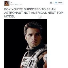 BOY NOTHIN MOTIVATES YOU TO GET YOUR LIFE TOGETHER LIKE A MOVIE ABOUT A MAN STUCK ALONE ON MARS FOR SEVERAL YEARS