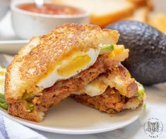 Mexican inspired and stacked tall, this gluten free Mexican breakfast sandwich i. - Mexican inspired and stacked tall, this gluten free Mexican breakfast sandwich is bursting with fla - Mexican Breakfast Recipes, Homemade Breakfast, Brunch Recipes, Gourmet Recipes, Dinner Recipes, Breakfast Ideas, Mexican Recipes, Gluten Free Recipes For Lunch, Gluten Free Breakfasts
