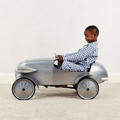 Pedal Car - Silver | The White Company