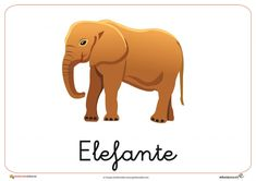 Fichas de Animales Salvajes:Elefante Scooby Doo, Dinosaur Stuffed Animal, Projects To Try, Elephant, Teaching, Animals, Fictional Characters, Apd, Montessori