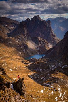 """""""  Le Grand Lac at Hautes-Alpes, Clarée, France Follow @travelgurus for the best…"""