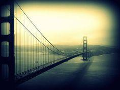 San Francisco, Digital Art Photography, Rest Of The World, Golden Gate Bridge, Etsy, Vintage
