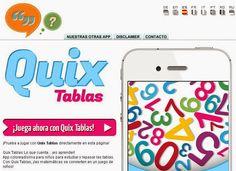 AYUDA PARA MAESTROS: QUIX TABLAS - APP PARA DIVERTIRSE APRENDIENDO Y RE...