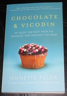must read: Chocolate & Vicodin by Jennette Fulda. topic: chronic pain story ab a woman w/ bad migraines.