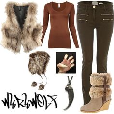 """""""Werewolf costume!"""" by passion4colour on Polyvore"""