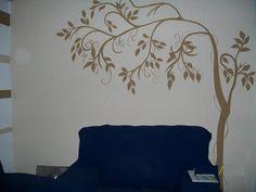 pinturas em paredes de quarto - Pesquisa Google