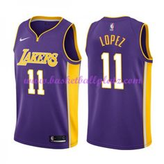 Los Angeles Lakers Trikot Herren 2018-19 Brook Lopez 11  Statement Edition  Basketball Trikots NBA Swingman 8925c2307