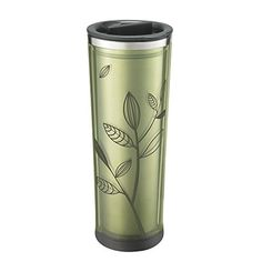 These popular acrylic-exterior, stainless-steel-interior tumblers now combine function and fashion. Featuring a handy twist lid and removable tea infuser, you can enjoy infused tea or coffee on the move in the 16 oz tumbler.
