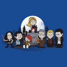 Peanuts meet Buffy. Brilliant. Laugh out loud brilliant.