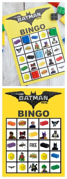 LEGO Batman Bingo Game