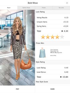 Happy with this good score.   #covetfreebie1605  #covetfashion1605