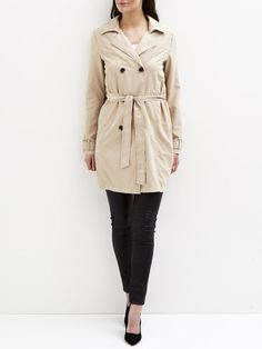 VIEMMELY - TRENCHCOAT, Soft Camel, large