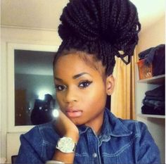 very pretty look...just be careful on the wear and tear that this can cause to your natural hair. Natural hair still has its breaking point!