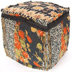 Bhargav Kantha Pouf now featured on Fab.