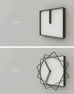"Clock design with some ""outside the box"" thinking."