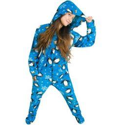 Penguin Footie Pajamas