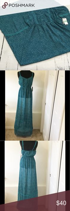 "O'Neill ""Amore"" Dress - Very long! Measures 18"" across from armpit to armpit and is 61"" long. Such a cute summer dress! O'Neill Dresses Maxi"
