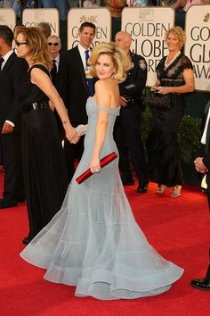 My favorite red carpet dress of all time. -B