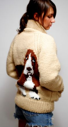 Basset Hound Sweater.