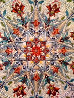 Japanese Quilt Flower: Contemporary Japanese Quilts at the Crow Collection of Asian Art in Dallas.