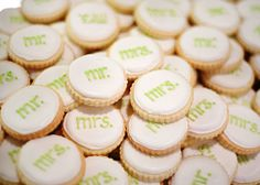mr and mrs cookies!