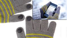 Digits – Conductive Glove Pins – Use Your Touch Screen While Keeping Warm ( read more an see where you can buy - http://upgrade.ly/?p=84 )