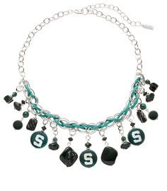 accessory PLAYS® NCAA Michigan State University Shaky Collar Necklace