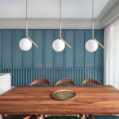 Modernism meets contemporary design in residential apartment Wood Slat Wall, House Design, Wall Cladding, Wood Accent Wall, Interior Walls, Home Decor, Slat Wall, Decor Essentials, Wall Design