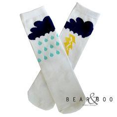 Rain or Shine Socks for Kids