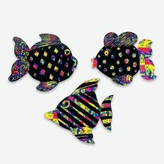 Magic Fish Craft #preschoolcrafts Craft Projects For Kids, Easy Crafts For Kids, Fish Crafts, Preschool Crafts, Cool Kids, Magic