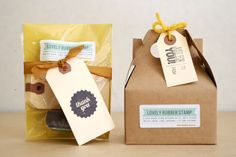 Natural sweet packaging, home-made look and feel to product friendly and warm colours inviting consumer in. Label and cursive type - friendly personal feel to product