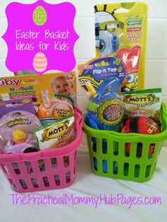 101 Easter Basket Ideas For Babies And Toddlers That Arent Candy
